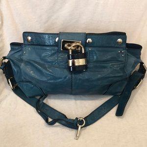 Authentic Chloe Blue Shoulder bag.